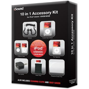 iPod Classic DGIPOD1412 10-in-1 Accessory Pack