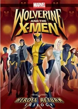 Wolverine and the X-Men: Heroes Return Trilogy (DVD)