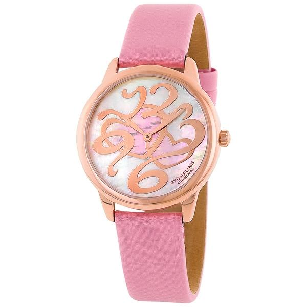 Stuhrling Original Women's Daphne Heart Swiss Quartz Watch