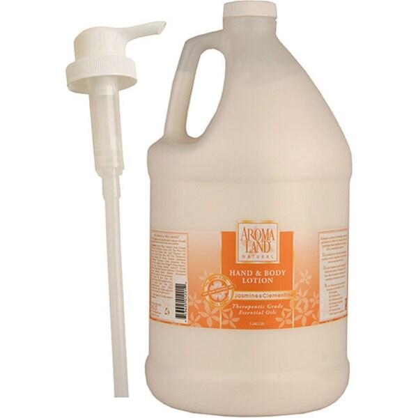 Aromaland 1-gallon Jasmine/ Clementine Body Lotion