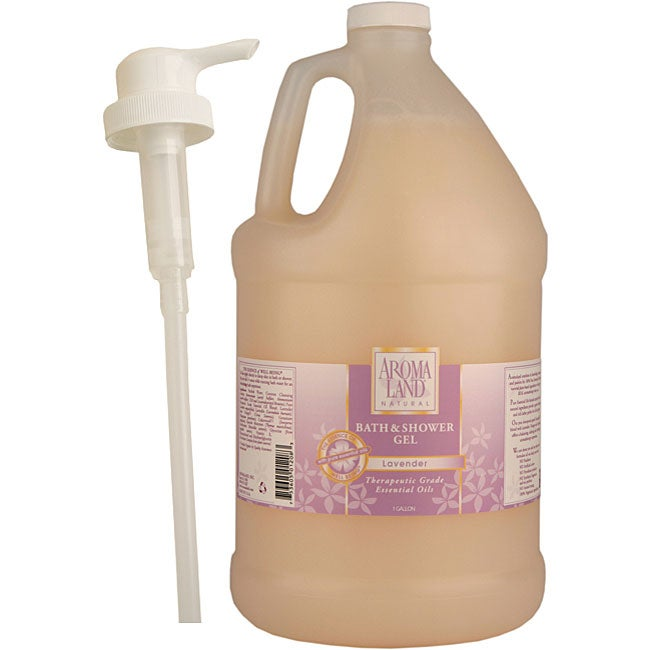 Aromaland One-gallon Lavender Shower Gel with Pump