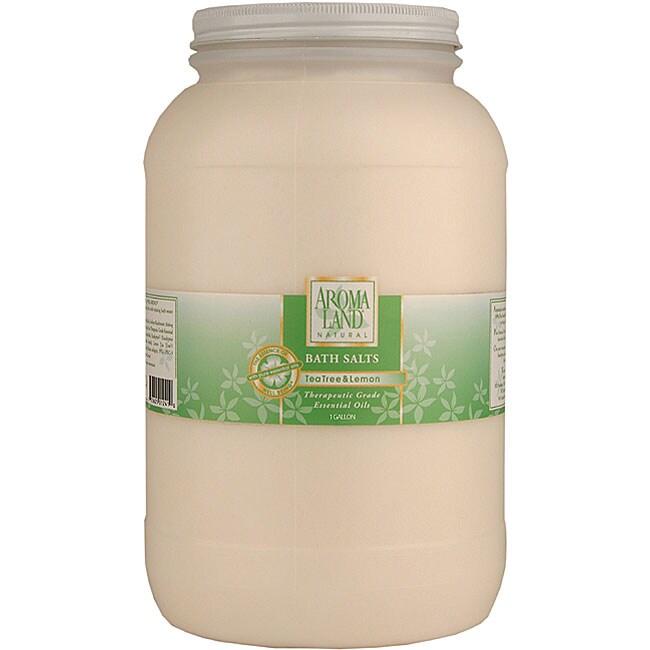 Aromaland 1-gallon Tea Tree/ Lemon Bath Salts