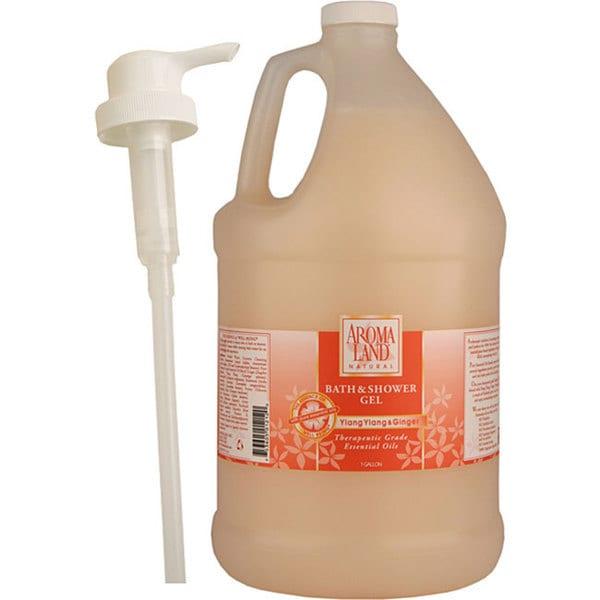 Aromaland 1-gallon Ylang Ylang and Ginger Shower Gel