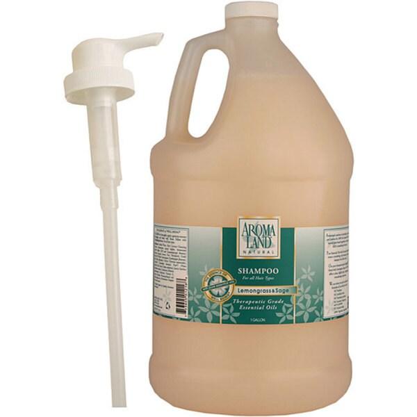 Aromaland 1-gallon Lemongrass and Sage Shampoo