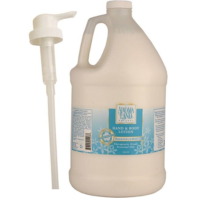 Aromaland 1-gallon Rosemary/ Mint Body Lotion