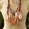 Tribal Mother of Pearl 3-piece Jewelry Set (Philippines)