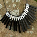Mother of Pearl 'Piano Keys' Necklace (Philippines)