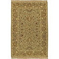 Hand-knotted Sangli New Zealand Wool Rug (2'6 x 8')