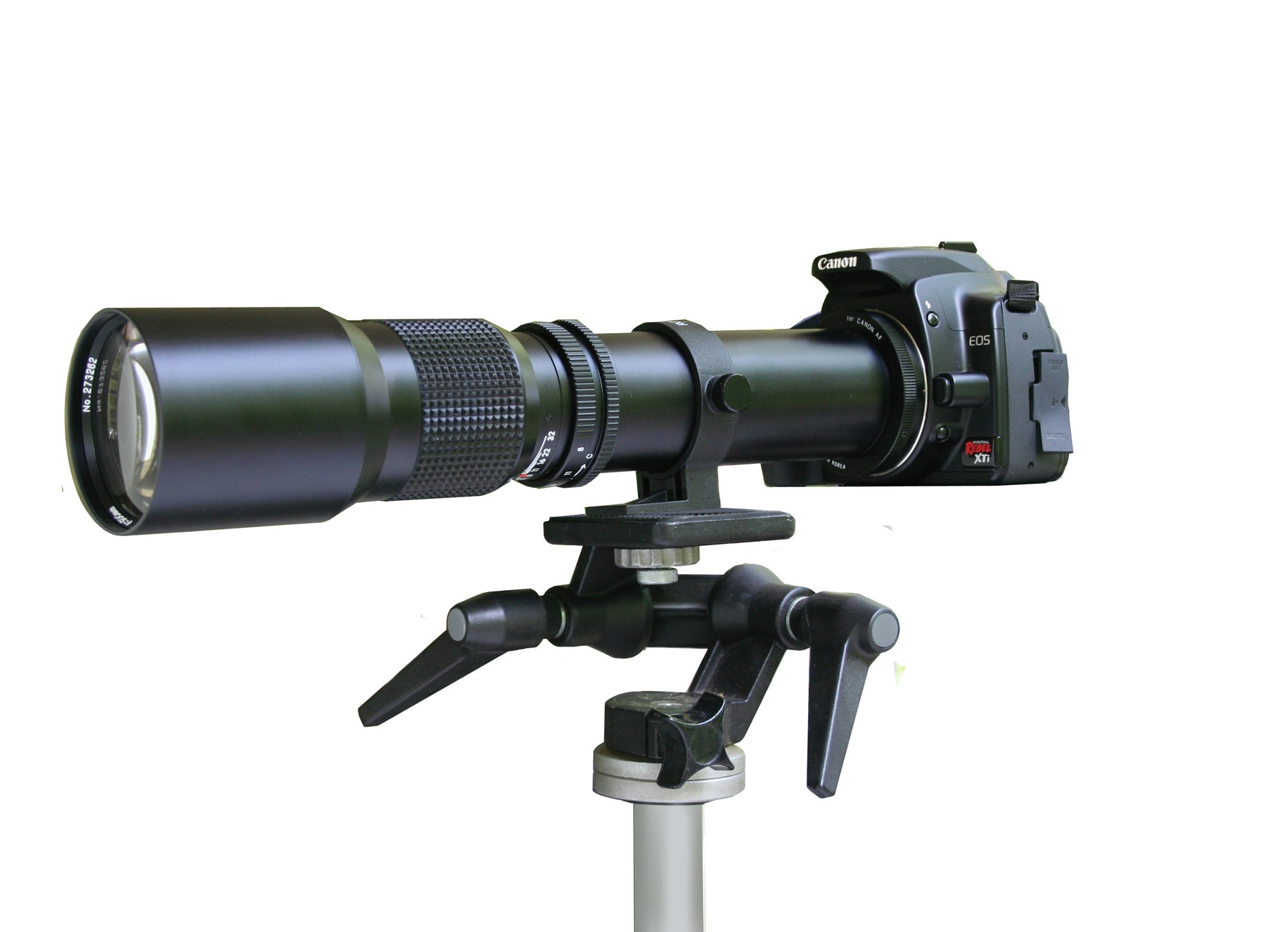 Rokinon 500mm telephoto mirror lens