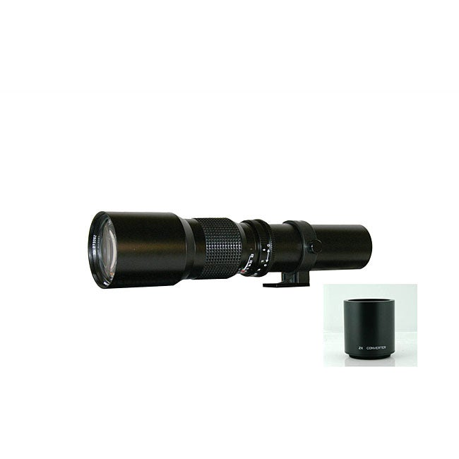 Rokinon 500mm/1000mm Telephoto Lens for Nikon
