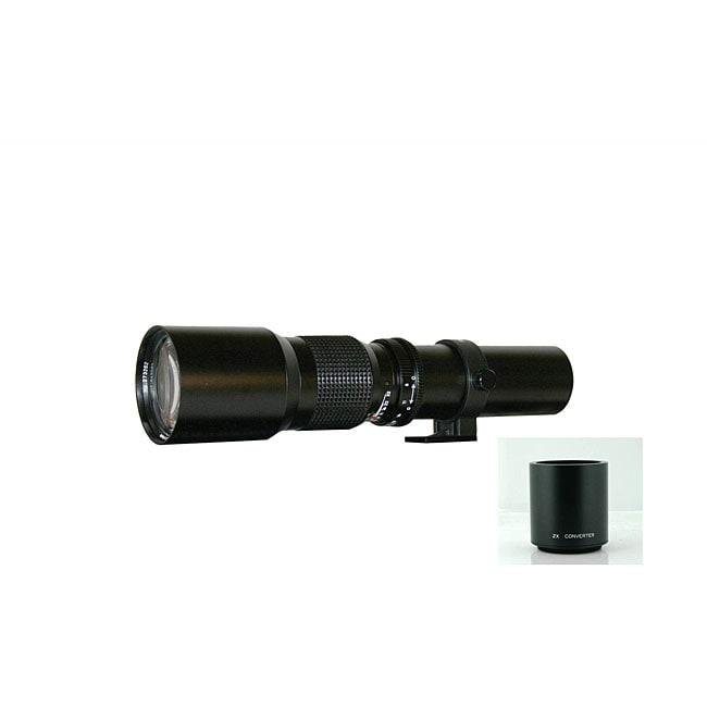 Rokinon 500mm/1000mm Telephoto Lens for Pentax