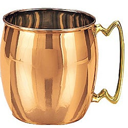 Solid Copper Moscow Mule Mugs 16 ounces (Set of 4)