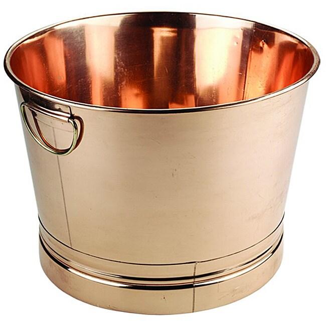 Round Copper Bucket