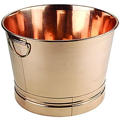 Round Copper Bucket