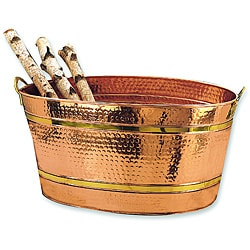 Copper 11-gallon Oval Bucket