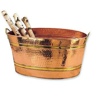 Copper 11-gallon Oval Bucket