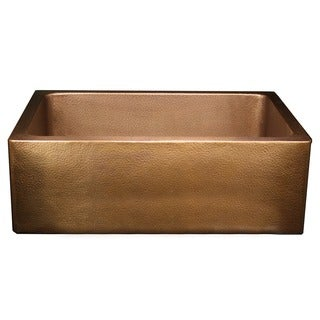 Hammered 30-inch Farm/Apron Sink