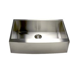 Stainless Steel Single Bowl Apron Farmhouse Kitchen Sink
