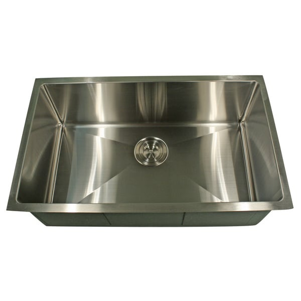Professional Style Small Radius Rectangular Kitchen Sink - 11915776 ...