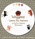 Wiggens Learns His Manners at the Four Seasons Restaurant (Hardcover)