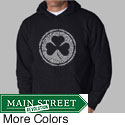 Los Angeles Pop Art Men's Irish Hooded Sweatshirt
