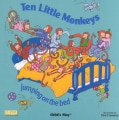 Ten Little Monkeys: Jumping on the Bed (Board book)