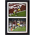 Steelers '100-yard Touchdown' 12x18 Framed Double Prints