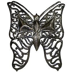 Metal 'Butterfly' Oil Drum Art (Haiti)