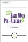 Master Math: Basic Math and Pre-algebra (Paperback)