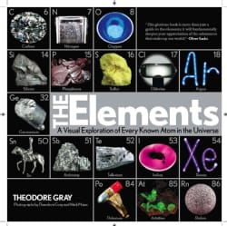 The Elements: A Visual Exploration of Every Known Atom in the Universe (Hardcover)