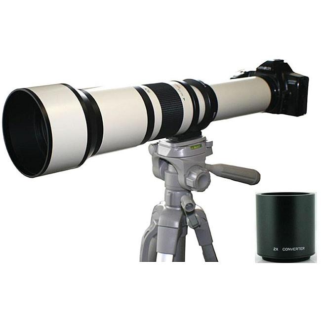 Rokinon 650-2600mm Telephoto Zoom Lens for Sony