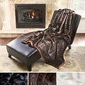 Mink Faux Fur Oversize Throw