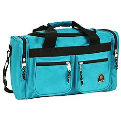 Rockland Bel-Air Turquoise 19-inch Carry On Tote / Duffel Bag
