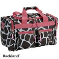 Rockland Bel-Air Giraffe/Pink 19-inch Carry-On Tote / Duffel Bag