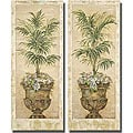 Pamela Gladding 'Parlor Palm' 2-piece Canvas Set