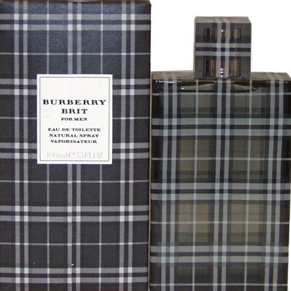 Burberry Brit Men's 3.4-ounce Eau de Toilette Spray
