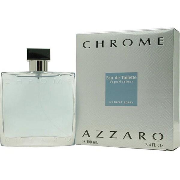 Azzaro Chrome Men's 3.4-ounce Eau de Toilette Spray (Tester)