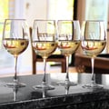 Custom Engraved White Wine Glasses (Set of 4)