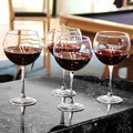 Custom Engraved Red Wine Glasses (Set of 4)