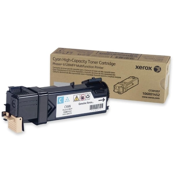 Xerox Cyan Toner Cartridge