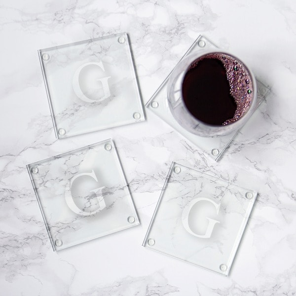 Personalized Glass Coasters (Set of 4) 5147413