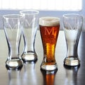 Custom Engraved Pilsner Glasses (Set of 4)