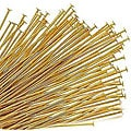 Beadaholique Goldplated 22-gauge Head Pins (Set of 100)