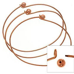 Beadaholique Copper-plated Wire Beading Bracelet (6)