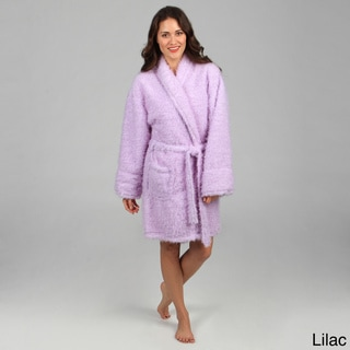 Aegean Apparel Women's Furry Robe