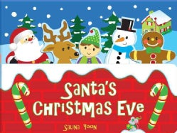 Santa's Christmas Eve (Board book)