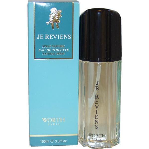 Worth Je Reviens Women's 3.3-ounce Eau de Toilette Spray