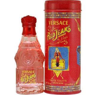 Red Jeans by Gianni Versace Women's 2.5-ounce Eau de Toilette Spray