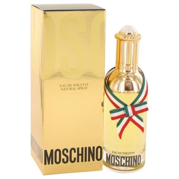 Moschino Women's 2.5-ounce Eau de Toilette Spray