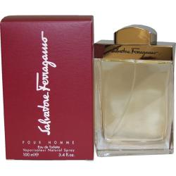 Salvatore Ferragamo 'Salvatore Ferragamo' Men's 3.4-ounce Eau de Toilette Spray